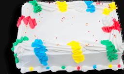 Torta Fiesta Serpentinas de 42 Porciones