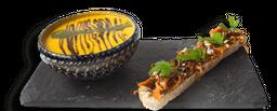 Sopa de Zanahoria y Chontaduro