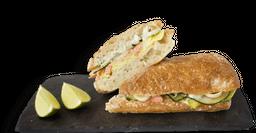 Sándwich de Trucha Ahumada