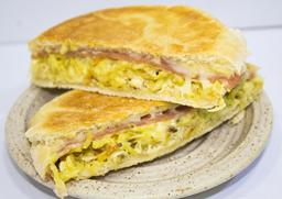 Pollo Jamón Mantequilla