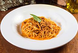 Spaguetti con Bolognesa