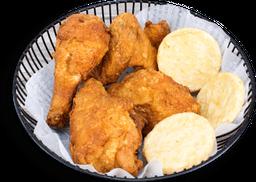 Pollito para Uno (Broaster)