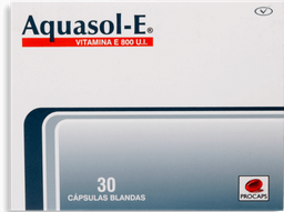 Aquasol Vitamina E