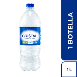 Agua Cristal  Pet x 1000 ml