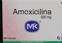 Amoxicilina 60 Cápsulas (500 mg)