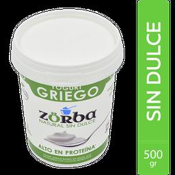Yogurt Griego Natural Sin Dulce  Zorba 500G