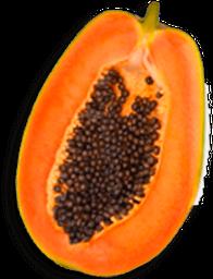 Papaya En Mitad Fresca