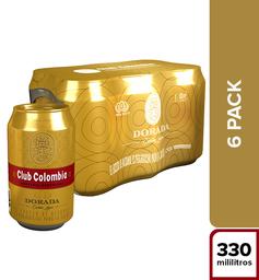 Cerveza Club Colombia Dorada - Lata