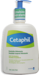 Cetaphil Emulsión Hidratante Frasco Con 473 mL - Piel Reseca