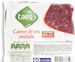 Carne Molida Taeq