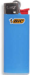 Encendedor Mini Azul Bic