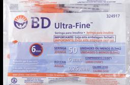 Jeringa Para Insulina 0.5Ml