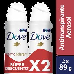 Dove Desodorante Dermoaclarant Pesp Spray 2 X