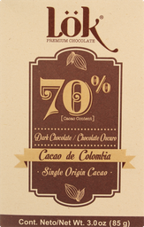 Barra de Chocolate Abbot Lok Premium Products