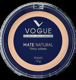 Polvo Vogue Mate Natural Natural