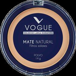 Polvo Vogue Mate Natural Trópico