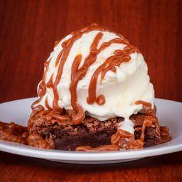 Hot Dim Dom Brownie Helado y 1 Galleta