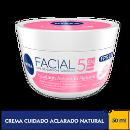 Nivea Crema Facial Cuidado Aclaradora x50g
