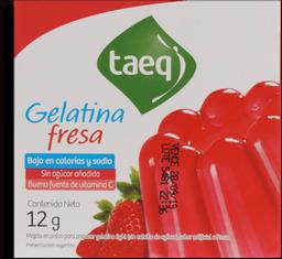 Gelatina Light Fresa Taeq