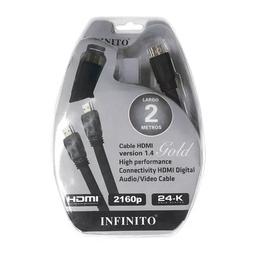Cable Hdmi 1.4 X 2Mt Marca: Infinito
