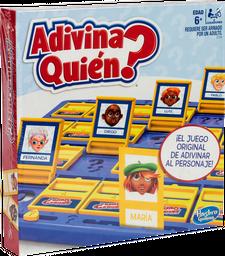Juego Mesa Adivina Quien 6 Ano Hasbro Gaming 1 u