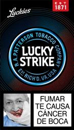 Cigarrillos Lucky Strike Cajetilla Pequeña 10 Unidades