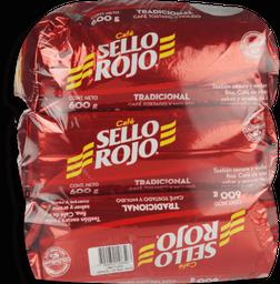 Sello Rojo Café Fuerte
