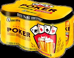 Cervezas Poker