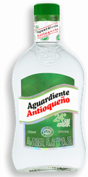Aguardiente sin Azucar Verde Antioqueño 750ML