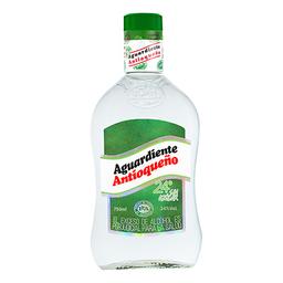 Aguardiente Verde sin Azúcar Antioqueño