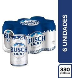 Cervezas Busch Light
