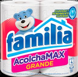 Papel Higiénico Familia AcolchaMAX Grande X 4 Rollos
