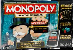 Monopoly E-Banking Nuevo Hasbro 1 u
