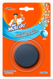 Mr Musculo Tanque Azul