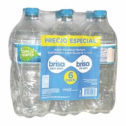Six Pack Agua Precio Esp Brisa
