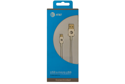 Cable Micro Usb Colores Marca: At&T