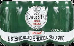 Cerveza Dagsbier Sixpack Dagsbier  1980 ml