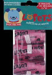 Repuesto Bolsa Biodegradable M Lopets 1 und