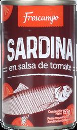 Sardinas En Salsa De Tomate Frescampo 155 g