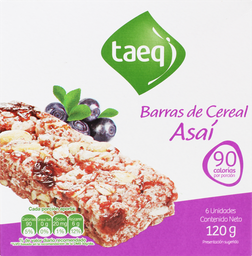 Taeq Barra Cereal Asai