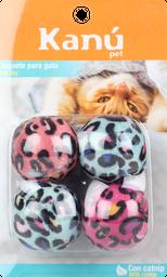 Set Bolitas Animal Print Gato Kanu 1 und