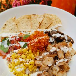 Bowl de Arroz Mexicano