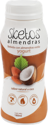 Yogurt Almendras Sketos Coco 180Ml