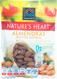Almendras Natures Heart 115G