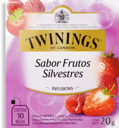 Infusion Berries Silvestr Twinings 150G