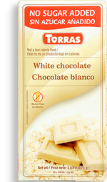 Chocolate Torras Blanco 75G