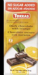 Chocolate Torras Con Naranja 75G