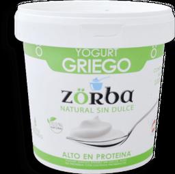 Yogurt Griego Zorba Nat Sin Dulce 1000G