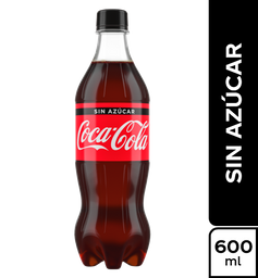 Coca - Cola Sin Azucar 600Ml