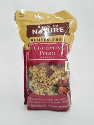 Back to Nature Granola Cranberry Pecan